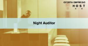 Night Auditor Hotel 4* - Estoril